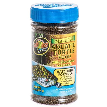 Zoo Med Zoo Med Natural Aquatic Turtle Food - Hatchling Formula (Pellets)