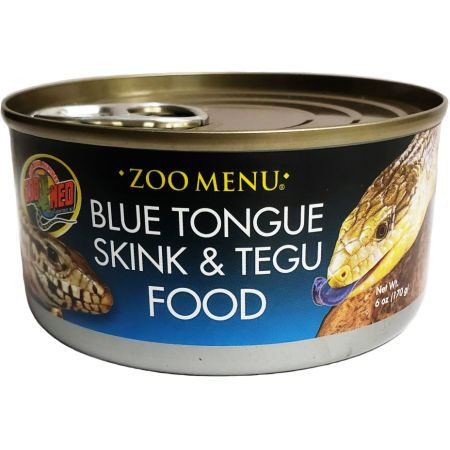 Zoo Med Zoo Med Blue Tongue Sking and Tegu Food Canned