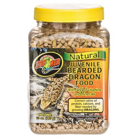 Zoo Med Zoo Med Natural Juvenile Bearded Dragon Food
