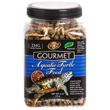 Zoo Med Zoo Med Gourmet Aquatic Turtle Food