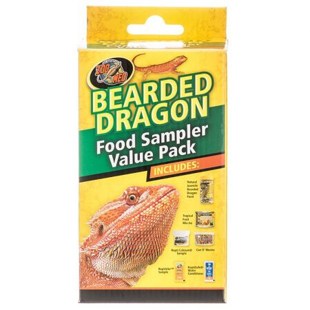 Zoo Med Zoo Med Bearded Dragon Foods Sampler Value Pack