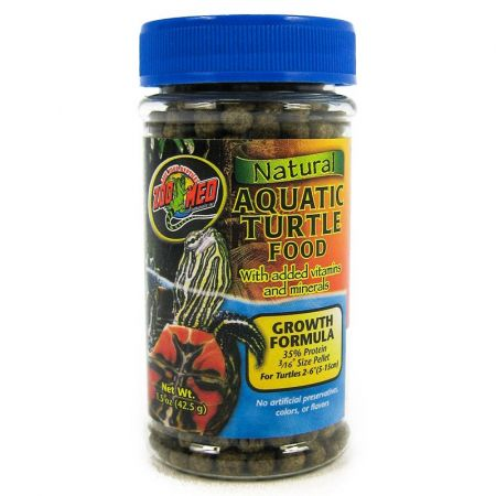Zoo Med Zoo Med Natural Aquatic Turtle Food - Growth Formula Pellets