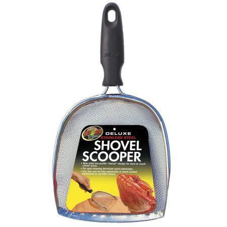 Zoo Med Delux Stainless Steel Shovel Scooper