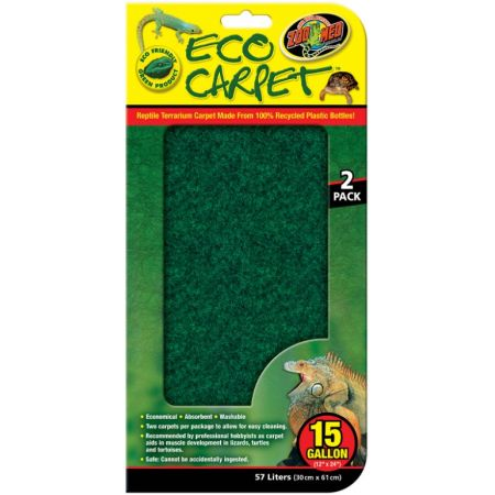 Zoo Med Reptile Eco Carpet Green or Brown alternate view 2