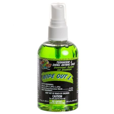 Zoo Med Zoo Med Wipe Out 1 - Small Animal & Reptile Terrarium Cleaner
