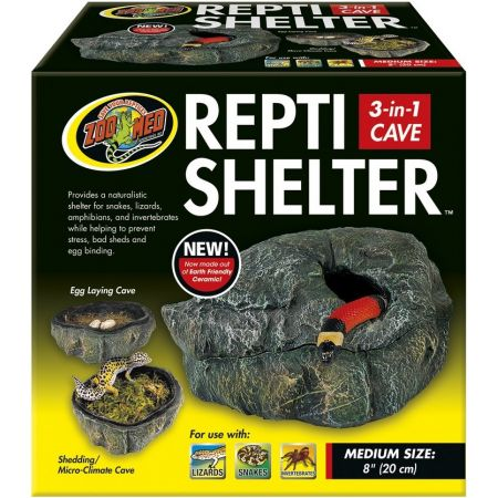 Zoo Med Zoo Med Repti Shelter 3 in 1 Cave