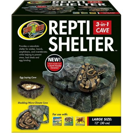 Zoo Med Repti Shelter 3 in 1 Cave alternate view 2