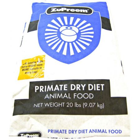 ZuPreem ZuPreem Primate Dry Diet Animal Food