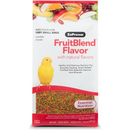 ZuPreem ZuPreem Fruit Blend Flavor Bird Food - Canary & Finch