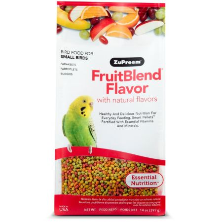 ZuPreem ZuPreem Fruit Blend Flavor Bird Food - Parakeet