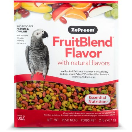 ZuPreem ZuPreem Fruit Blend Flavor Bird Food - Parrot & Conure