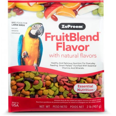 ZuPreem ZuPreem Fruit Blend Flavor Bird Food - Large Parrot