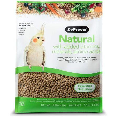 ZuPreem ZuPreem Natural Blend Bird Food - Cockatiel