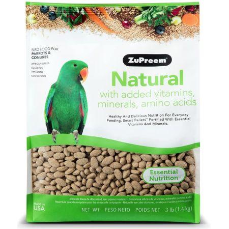 ZuPreem ZuPreem Natural Blend Bird Food - Parrot & Conure
