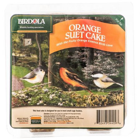 Birdola Birdola Orange Suet Cake