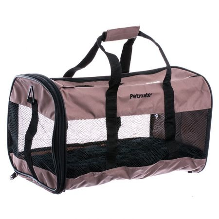 Petmate Soft Sided Kennel Cab Carrier - Mink alternate view 1
