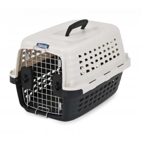 Petmate Petmate Compass Kennel - Black & Metalic White