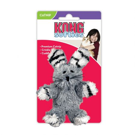 Kong Kong Fuzzy Bunny Softies Cat Toy - Assorted