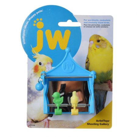 JW Insight Shooting Gallery - Bird Toy