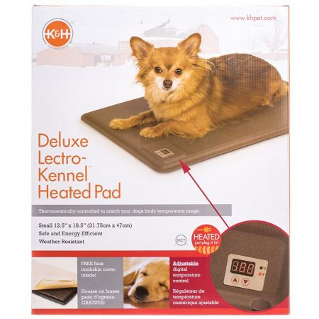 K&H Pet Products K & H Lectro-Kennel Heated Pad - Delux