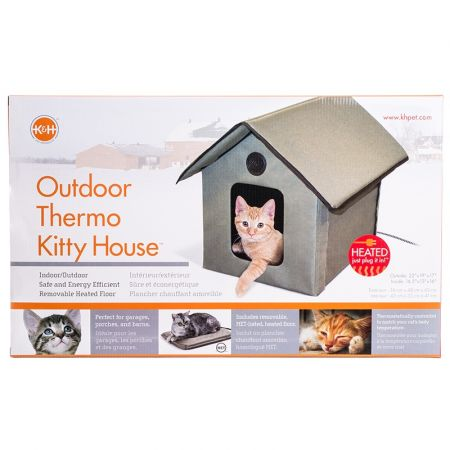 K&H Pet Products K & H Outdoor Kitty House - Heated