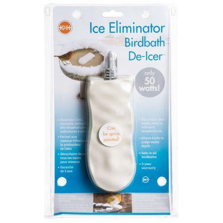 K&H Pet Products K & H Bird Bath De-Icer - Super Ice Eliminator
