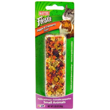 Kaytee Kaytee Fiesta Veggie & Cranberry Treat Stick