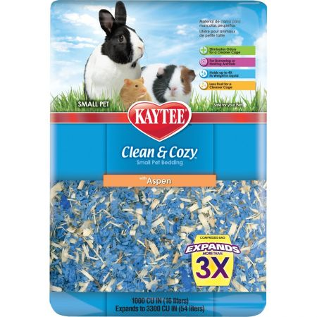 Kaytee Kaytee Clean & Cozy Small Pet Bedding - Aspen