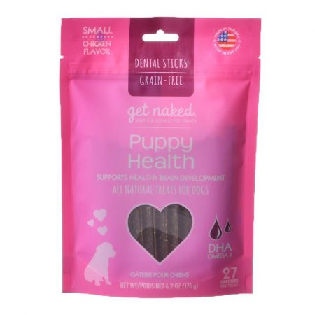 Get Naked Get naked Puppy Health Dental Chew Treats