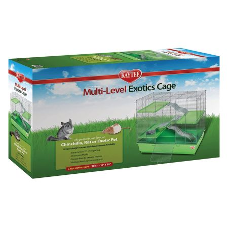 Kaytee Multi-Level Exotics Cage