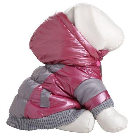 Pet Life Pet Life Aspen Vintage Dog Ski Jacket - Pink & Grey