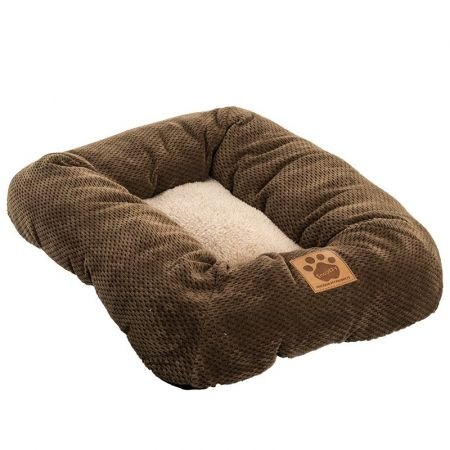 Precision Pet Mod Chic Bumper Bed - Coffee alternate view 1