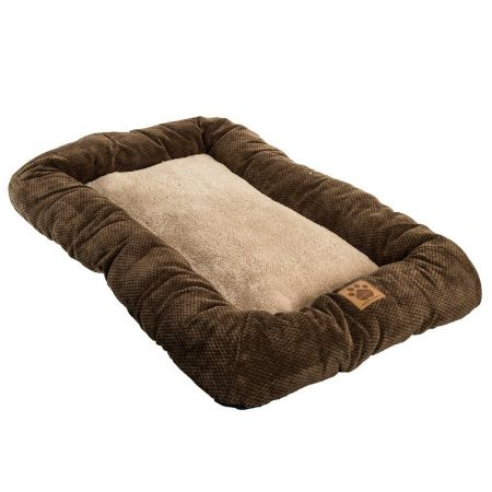 Precision Pet Mod Chic Bumper Bed - Coffee alternate view 2
