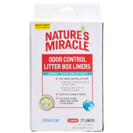 Natures Miracle Nature's Miracle Odor Control Litter Box Liners