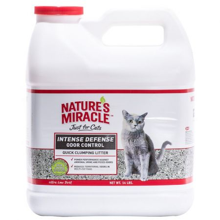 Natures Miracle Nature's Miracle Intense Defense Odor Control - Clumping Cat Litter