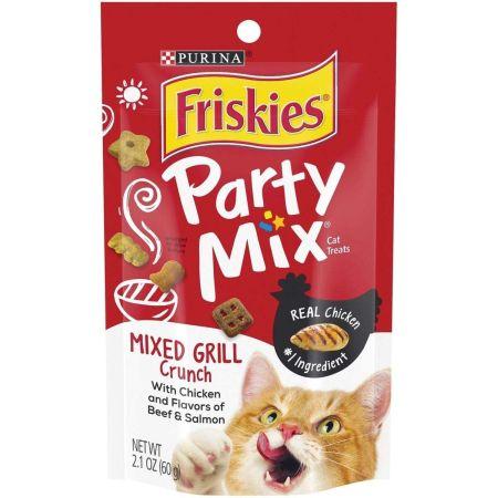 Purina Friskies Party Mix Cat Treats - Mixed Grill Crunch