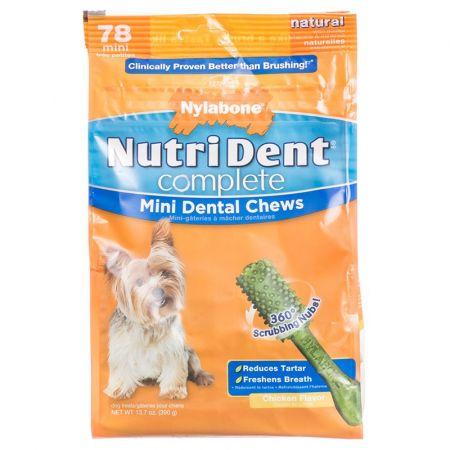 Nylabone Nylabone NutriDent Complete Dental Chews - Chicken Flavor