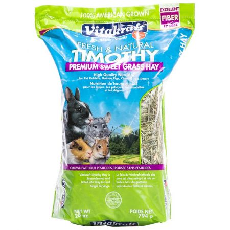 Vitakraft Vitakraft Fresh & Natural Timothy Premium Sweet Grass Hay