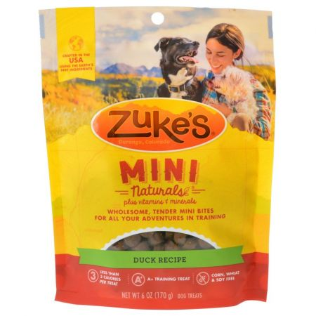 Zuke's Mini Naturals Moist Dog Treats - Delicious Duck Recipe alternate view 1