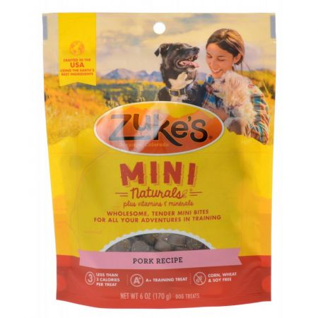 Zuke's Mini Naturals Moist Dog Treats - Roasted Pork Recipe