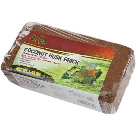 Zilla Zilla Coconut Husk Premium Reptile Bedding Brick