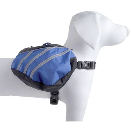 Pet Life Pet Life Dupont Everest Backback - Blue/Grey