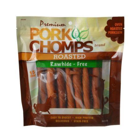Scott Pet Pork Chomps Twistz Pork Chews - Roasted