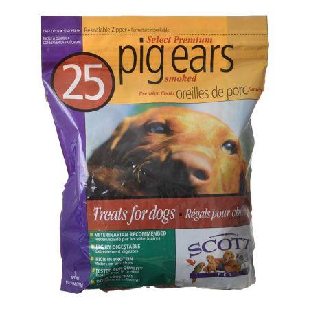 Scott Pet Scott Pet Select Premium Smoked Pig Ears