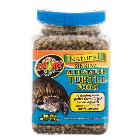 Zoo Med Zoo Med Natural Sinking Mud & Musk Turtle Food