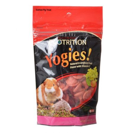 Ecotrition Ecotrition Yogies Guinea Pig Treats - Fruit Flavor with Vitamin C