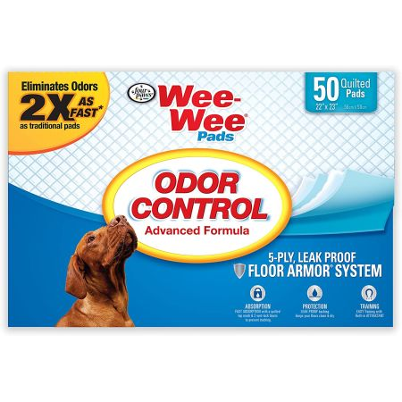 Four Paws Four Paws Wee Wee Pads - Odor Control