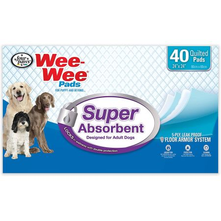 Four Paws Four Paws Wee Wee Pads - Super Absorbent