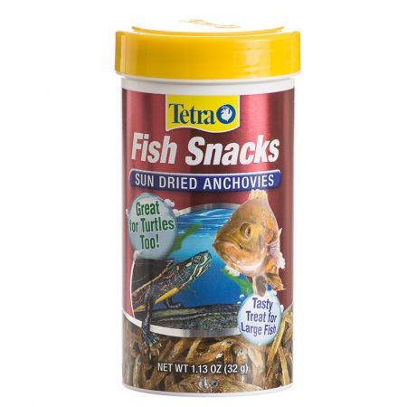 Tetra Tetra Fish Snacks - Sun Dried Anchovies