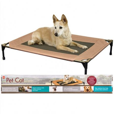 K&H Pet Products K&H Pet Cot - Chocolate Brown